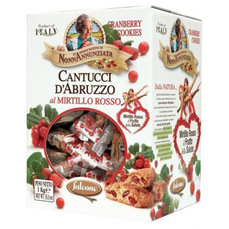 Cantucci Cantuccini Cranberry