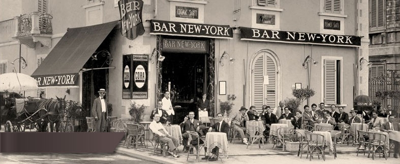 Caffe New York Bar in Montecatine Therme