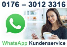 Whatsapp Kundenservice bei Espresso International