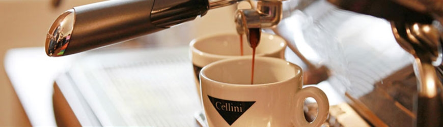 Cellini espresso coffee