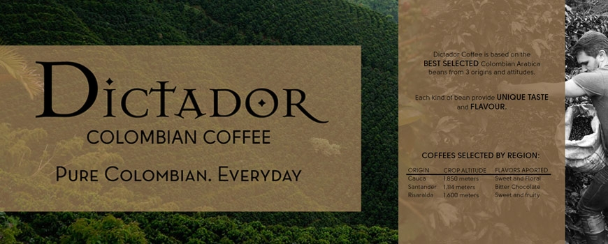 Dictador espresso coffee